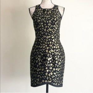 Keepsake Sweet Life Metallic Jacquard Mini Dress